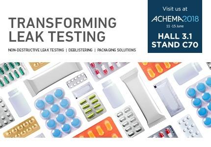 TRANSFORMING LEAK TESTING PROCEDURES AT ACHEMA 2018