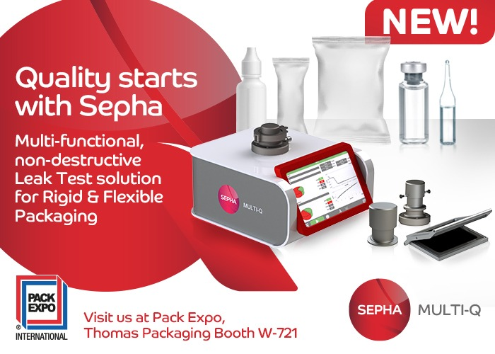 Quality starts with Sepha – Introducing the Sepha Multi-Q at Pack Expo