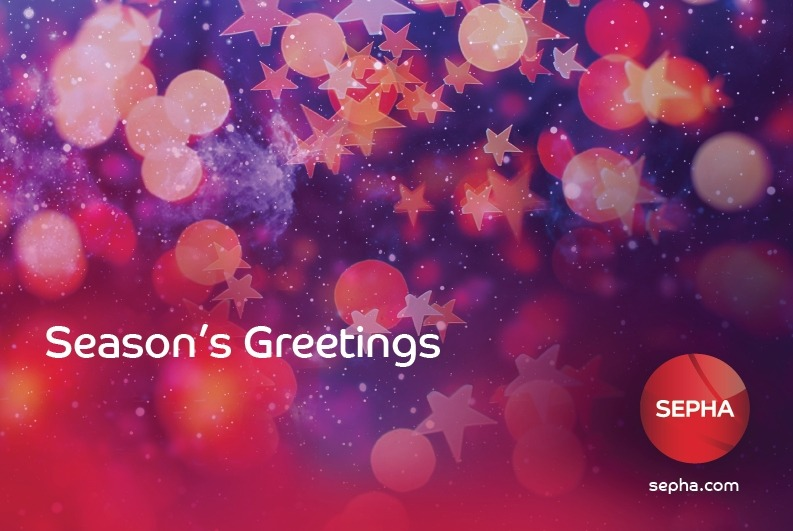 Season's Greetings from all at Sepha
