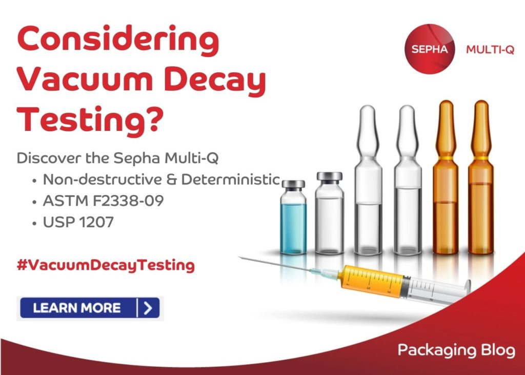 Vacuum Decay Testing of Parenterals