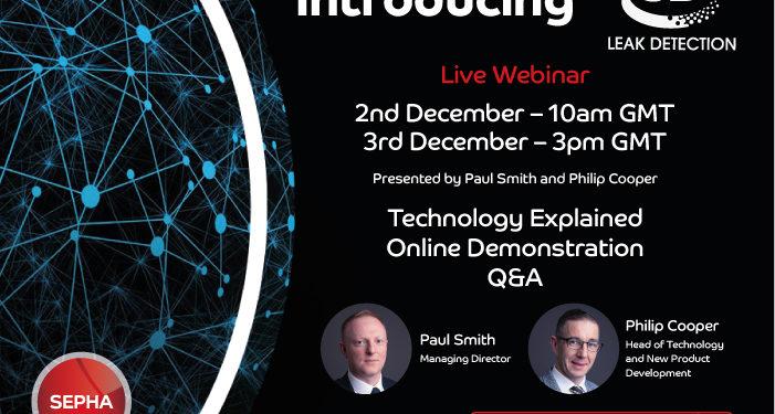 Live webinar – Introducing 3D Leak Detection
