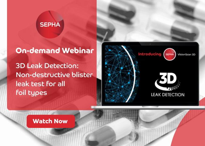 On-demand webinar – 3D Leak Detection for blister packs