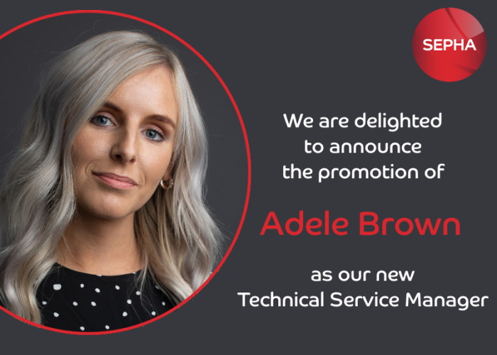 Adele Brown promoted to Technical Service Manager
