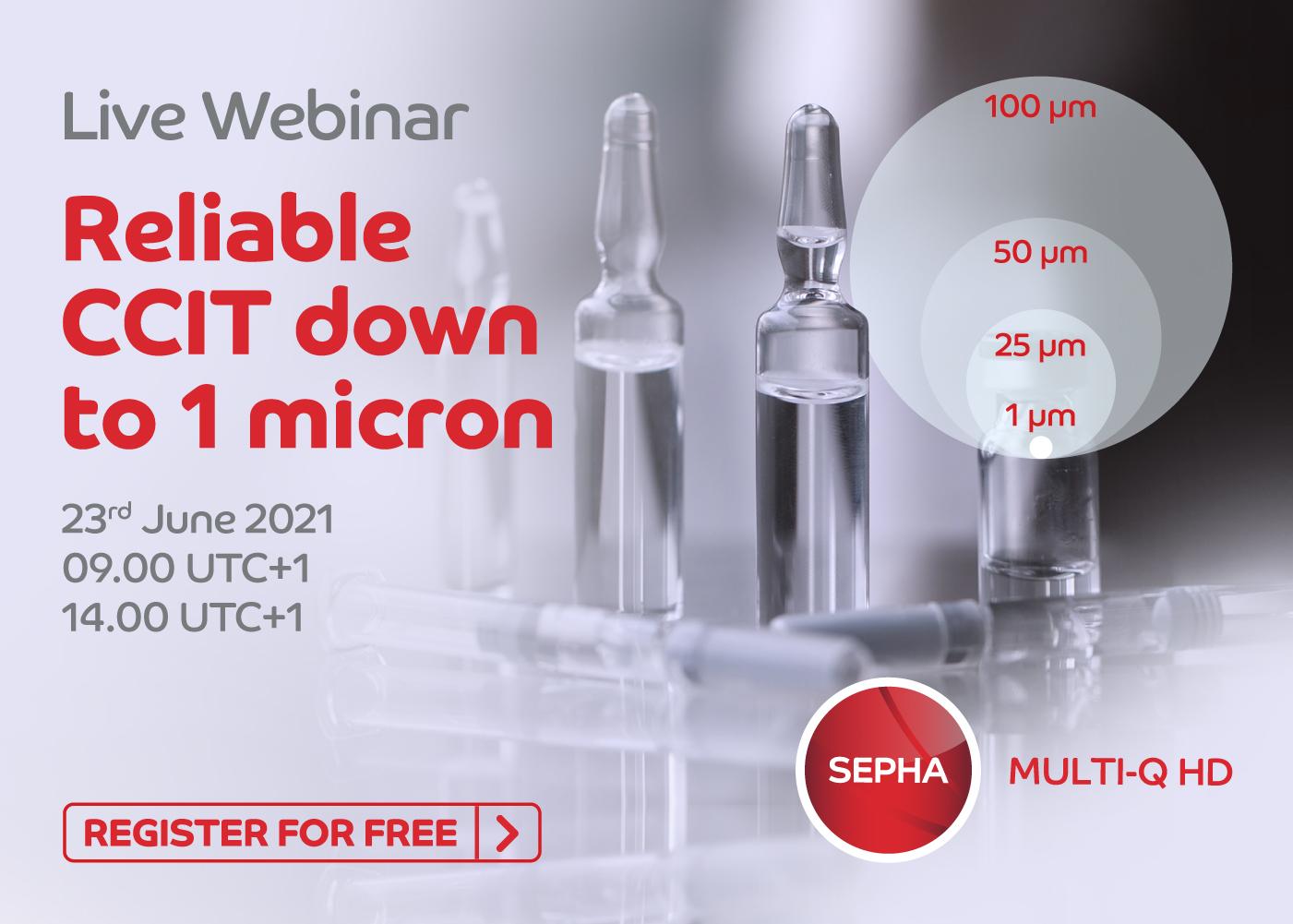 1 Micron CCIT SEPHA MULTI-Q HD